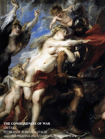 The Consequences of War, Rubens