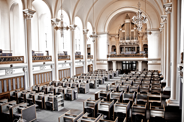 Dawson College Converted Its Church Into A Library