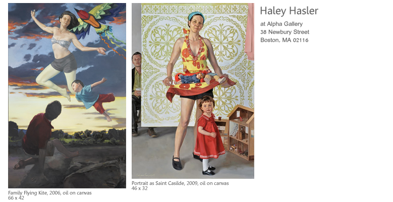 Haley Hasler at Alpha Gallery