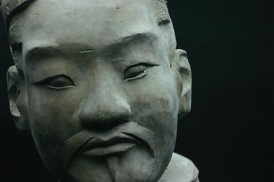 Terracotta Warriors Face of Terracotta Warrior Face